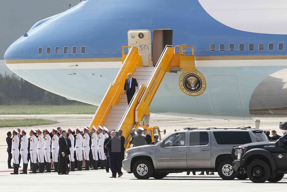 US President Donald Trump sets foot in Da Nang, Government news, Vietnam breaking news, politic news, vietnamnet bridge, english news, Vietnam news, news Vietnam, vietnamnet news, Vietnam net news, Vietnam latest news, vn news