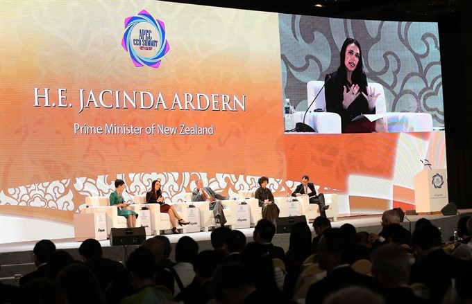 Climate change highlighted on APEC CEO Summit's final day, Vietnam environment, climate change in Vietnam, Vietnam weather, Vietnam climate, pollution in Vietnam, environmental news, sci-tech news, vietnamnet bridge, english news, Vietnam news, news Vietn