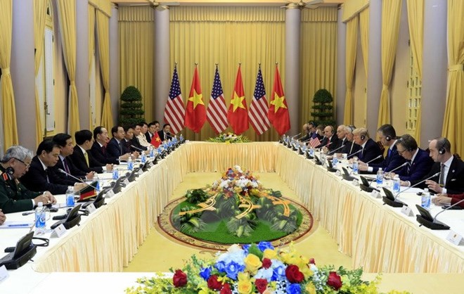 US President Donald Trump pays State visit to Vietnam, Government news, Vietnam breaking news, politic news, vietnamnet bridge, english news, Vietnam news, news Vietnam, vietnamnet news, Vietnam net news, Vietnam latest news, vn news