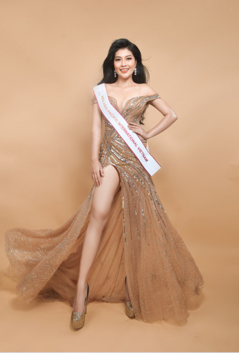 Vuong Thanh Tuyen represents Vietnam at Miss Asia Pacific International 2017, entertainment events, entertainment news, entertainment activities, what's on, Vietnam culture, Vietnam tradition, vn news, Vietnam beauty, news Vietnam, Vietnam news, Vietnam n