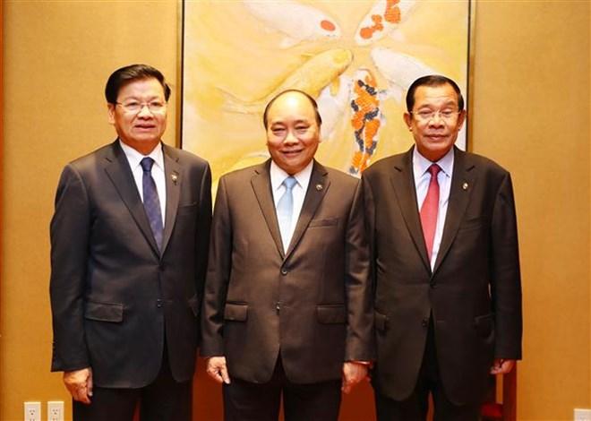 Vietnamese, Lao, Cambodian PMs review trilateral cooperation, Government news, Vietnam breaking news, politic news, vietnamnet bridge, english news, Vietnam news, news Vietnam, vietnamnet news, Vietnam net news, Vietnam latest news, vn news