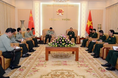 Army chief receives Chinese army official, Government news, Vietnam breaking news, politic news, vietnamnet bridge, english news, Vietnam news, news Vietnam, vietnamnet news, Vietnam net news, Vietnam latest news, vn news
