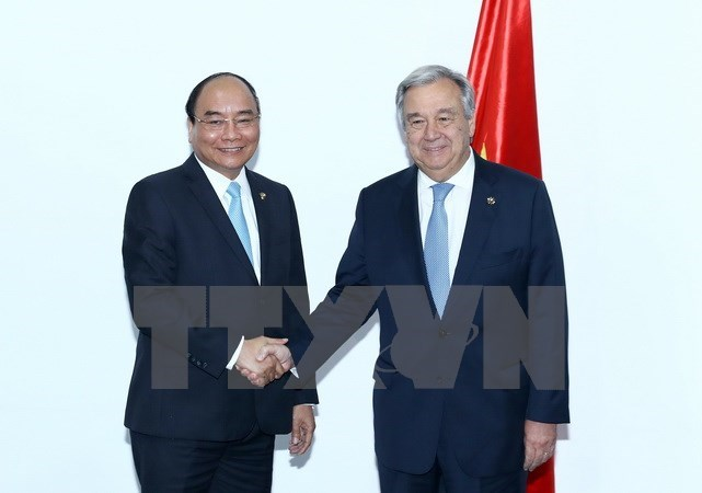 Prime Minister meet UN, EC leaders in Manila  , Government news, Vietnam breaking news, politic news, vietnamnet bridge, english news, Vietnam news, news Vietnam, vietnamnet news, Vietnam net news, Vietnam latest news, vn news