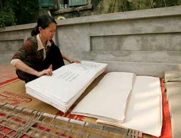 Yen Thai craft village, poonah paper, Vietnam economy, Vietnamnet bridge, English news about Vietnam, Vietnam news, news about Vietnam, English news, Vietnamnet news, latest news on Vietnam, Vietnam