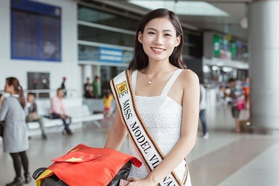 Quynh Nhu competes at Miss Model of the Word 2017, entertainment events, entertainment news, entertainment activities, what's on, Vietnam culture, Vietnam tradition, vn news, Vietnam beauty, news Vietnam, Vietnam news, Vietnam net news, vietnamnet news, v