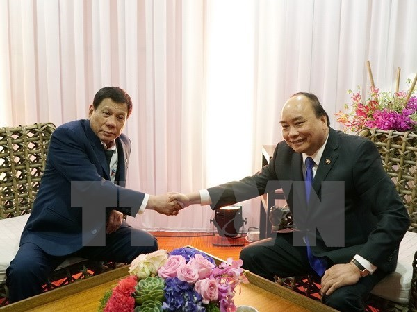 PM meets Russian, Philippine, Indian leaders at ASEAN Summit, Government news, Vietnam breaking news, politic news, vietnamnet bridge, english news, Vietnam news, news Vietnam, vietnamnet news, Vietnam net news, Vietnam latest news, vn news