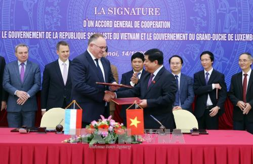 Vietnam, Luxembourg sign General Cooperation Agreement, Government news, Vietnam breaking news, politic news, vietnamnet bridge, english news, Vietnam news, news Vietnam, vietnamnet news, Vietnam net news, Vietnam latest news, vn news