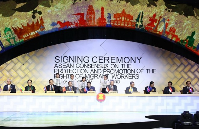 ASEAN reach consensus on protecting rights of migrant workers, Government news, Vietnam breaking news, politic news, vietnamnet bridge, english news, Vietnam news, news Vietnam, vietnamnet news, Vietnam net news, Vietnam latest news, vn news