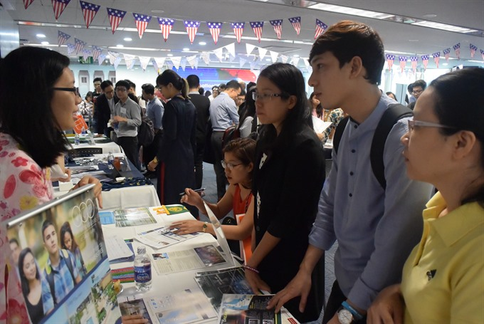 The US sees increase in number of Vietnamese students