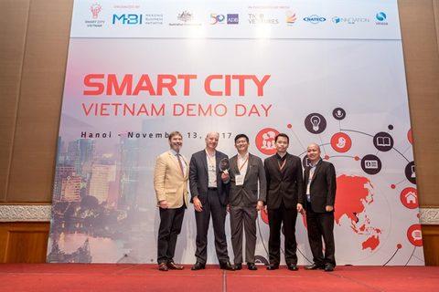 Teams pitch smart cities solutions for Vietnam, IT news, sci-tech news, vietnamnet bridge, english news, Vietnam news, news Vietnam, vietnamnet news, Vietnam net news, Vietnam latest news, Vietnam breaking news, vn news