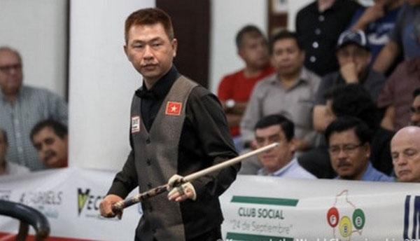 Four Vietnamese representatives in world top 20 three-cushion