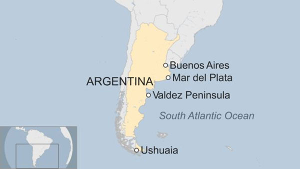 Argentina missing submarine, bad weather