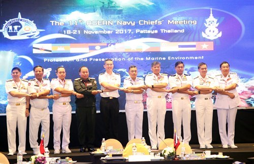 ASEAN navies cooperate to protect marine environment