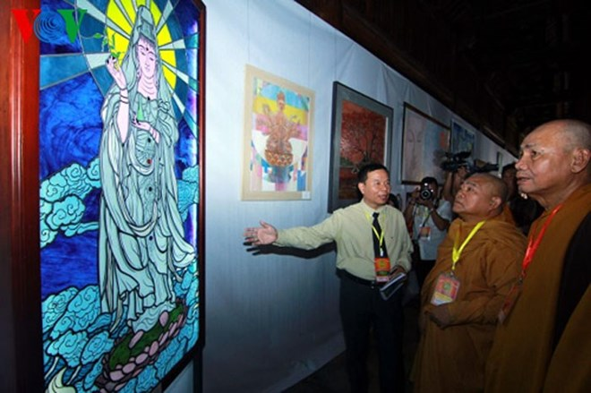 Exhibition features contemporary Buddhism, vietnam economy, business news, vn news, vietnamnet bridge, english news, Vietnam news, news Vietnam, vietnamnet news, vn news, Vietnam net news, Vietnam latest news, Vietnam breaking news