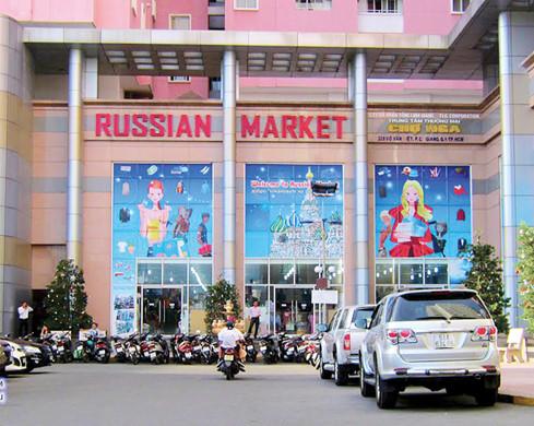 Russian markets in Ho Chi Minh City