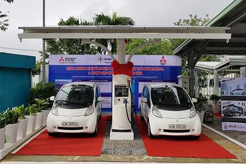 VN's first station for electric vehicles opens in Da Nang, vietnam economy, business news, vn news, vietnamnet bridge, english news, Vietnam news, news Vietnam, vietnamnet news, vn news, Vietnam net news, Vietnam latest news, Vietnam breaking news