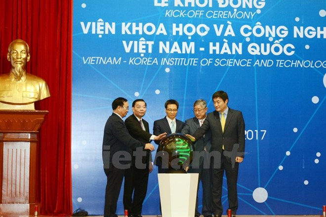 Vietnam-Korea Institute of Science and Technology launched