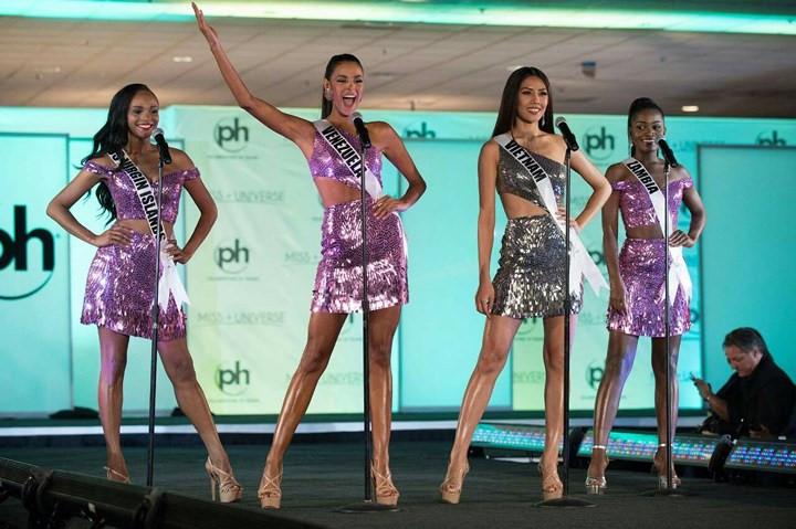 VN representative shines in Miss Universe 2017's semi-final round, entertainment events, entertainment news, entertainment activities, what's on, Vietnam culture, Vietnam tradition, vn news, Vietnam beauty, news Vietnam, Vietnam news, Vietnam net news, vi