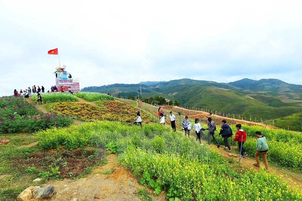 Pha Din Pass - attactive site in northwestern region