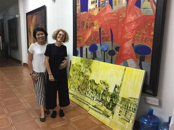 Italian artist, artist Nguyen Dam Thuy, Vietnam economy, Vietnamnet bridge, English news about Vietnam, Vietnam news, news about Vietnam, English news, Vietnamnet news, latest news on Vietnam, Vietnam