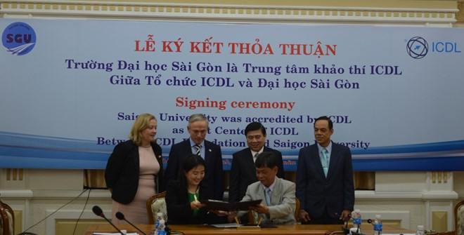 Sai Gon University accredited as first ICDL centre in HCM City, social news, vietnamnet bridge, english news, Vietnam news, news Vietnam, vietnamnet news, Vietnam net news, Vietnam latest news, vn news, Vietnam breaking news