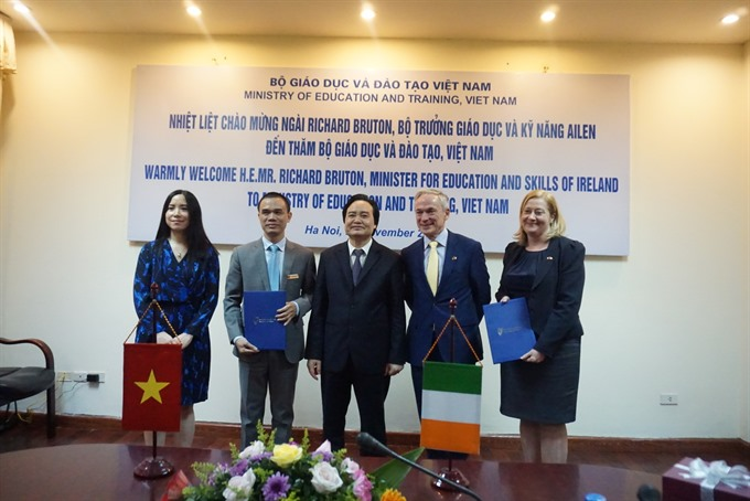 Irish and VN higher education institutions promote co-operation, social news, vietnamnet bridge, english news, Vietnam news, news Vietnam, vietnamnet news, Vietnam net news, Vietnam latest news, vn news, Vietnam breaking news