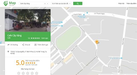Coc Coc updates 1.2m service points, IT news, sci-tech news, vietnamnet bridge, english news, Vietnam news, news Vietnam, vietnamnet news, Vietnam net news, Vietnam latest news, Vietnam breaking news, vn news