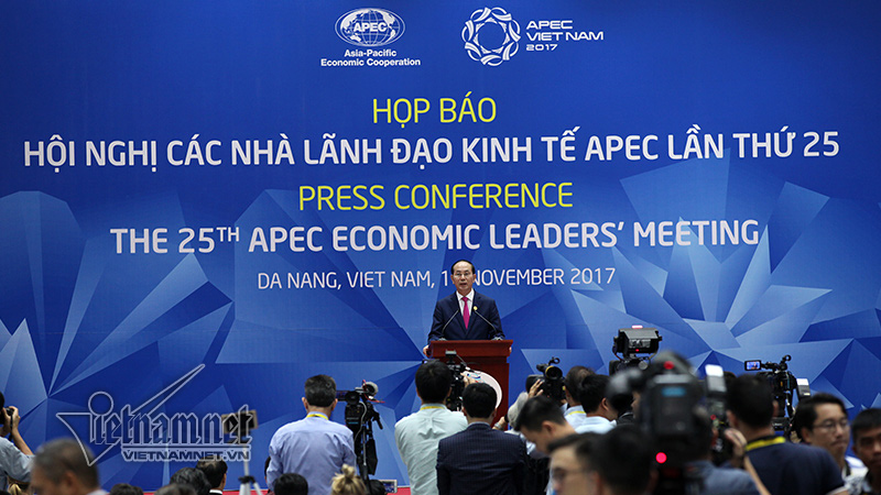 VN President hosts press conference on the results of APEC Summit, Government news, Vietnam breaking news, politic news, vietnamnet bridge, english news, Vietnam news, news Vietnam, vietnamnet news, Vietnam net news, Vietnam latest news, vn news