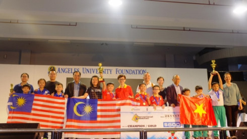 Vietnam wins first prize at Int'l Robothon Competition in Philippines, Vietnam education, Vietnam higher education, Vietnam vocational training, Vietnam students, Vietnam children, Vietnam education reform, vietnamnet bridge, english news, Vietnam news, n
