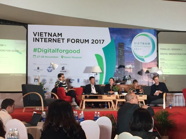 Vietnam Internet Forum 2017 underway in Hanoi, IT news, sci-tech news, vietnamnet bridge, english news, Vietnam news, news Vietnam, vietnamnet news, Vietnam net news, Vietnam latest news, Vietnam breaking news, vn news