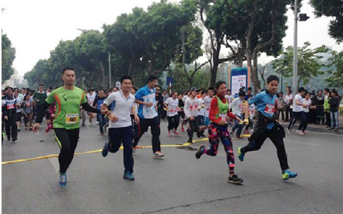 Run with the blind on Sunday in Hanoi, social news, vietnamnet bridge, english news, Vietnam news, news Vietnam, vietnamnet news, Vietnam net news, Vietnam latest news, vn news, Vietnam breaking news