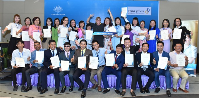 52 Vietnamese win Australia scholarship, Vietnam education, Vietnam higher education, Vietnam vocational training, Vietnam students, Vietnam children, Vietnam education reform, vietnamnet bridge, english news, Vietnam news, news Vietnam, vietnamnet news,