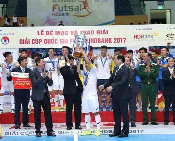 National Futsal Cup, Thai Son Nam, win, Vietnam economy, Vietnamnet bridge, English news about Vietnam, Vietnam news, news about Vietnam, English news, Vietnamnet news, latest news on Vietnam, Vietnam