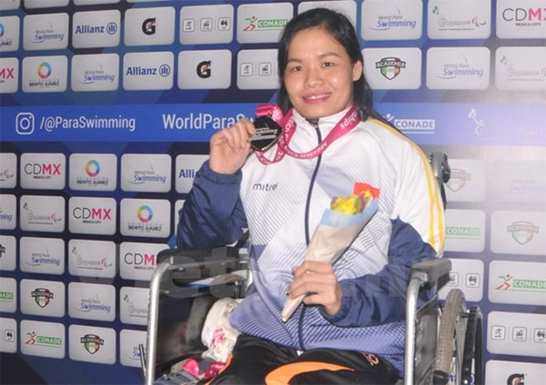 World Para Swimming Championship, Vietnamese disabled swimmers, shine, Vietnam economy, Vietnamnet bridge, English news about Vietnam, Vietnam news, news about Vietnam, English news, Vietnamnet news, latest news on Vietnam, Vietnam