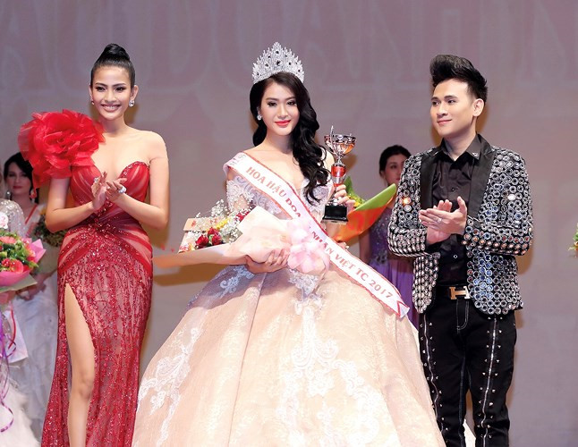 Vu Binh Minh crowned Miss Vietnam Global Business 2017, entertainment events, entertainment news, entertainment activities, what's on, Vietnam culture, Vietnam tradition, vn news, Vietnam beauty, news Vietnam, Vietnam news, Vietnam net news, vietnamnet ne