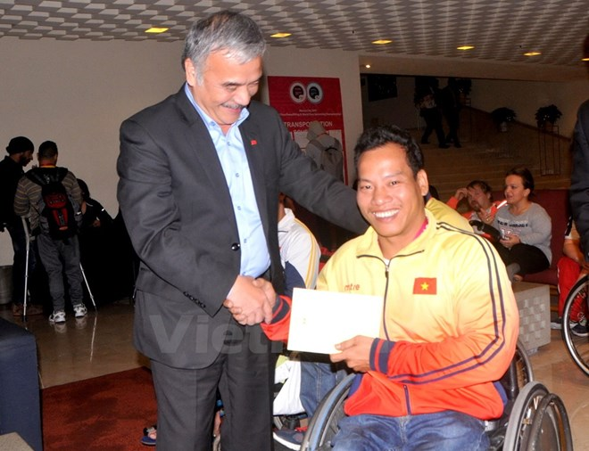 Vietnamese weightlifter breaks world record at World Para Championship, Sports news, football, Vietnam sports, vietnamnet bridge, english news, Vietnam news, news Vietnam, vietnamnet news, Vietnam net news, Vietnam latest news, vn news, Vietnam