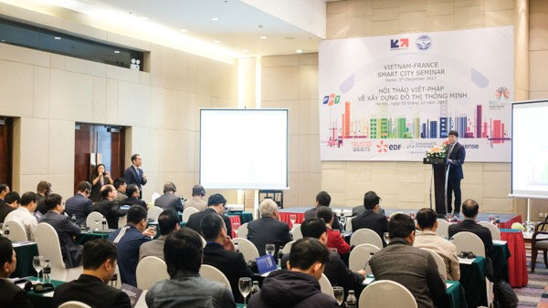 Building smart cities, Viet Nam-France Smart City seminar, Vietnam economy, Vietnamnet bridge, English news about Vietnam, Vietnam news, news about Vietnam, English news, Vietnamnet news, latest news on Vietnam, Vietnam