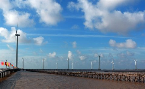 Wind energy could grow 7% a year: experts, vietnam economy, business news, vn news, vietnamnet bridge, english news, Vietnam news, news Vietnam, vietnamnet news, vn news, Vietnam net news, Vietnam latest news, Vietnam breaking news
