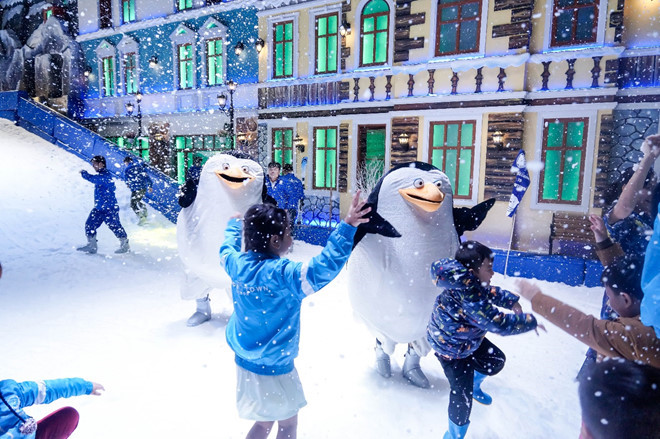 Snow Town in HCM City, travel news, Vietnam guide, Vietnam airlines, Vietnam tour, tour Vietnam, Hanoi, ho chi minh city, Saigon, travelling to Vietnam, Vietnam travelling, Vietnam travel, vn news