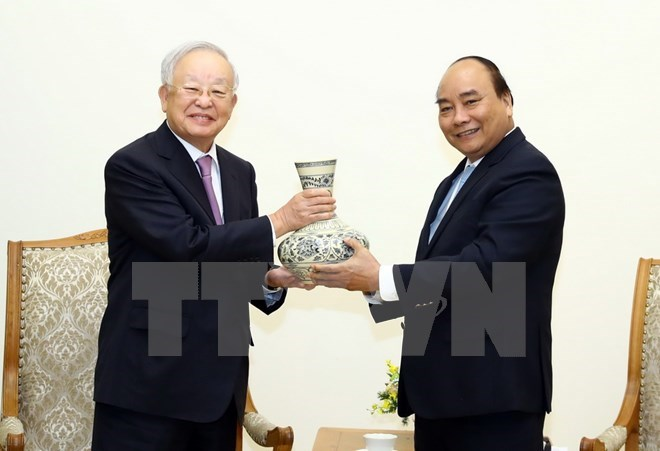 PM receives Chairman of RoK-based CJ Corporation, Government news, Vietnam breaking news, politic news, vietnamnet bridge, english news, Vietnam news, news Vietnam, vietnamnet news, Vietnam net news, Vietnam latest news, vn news