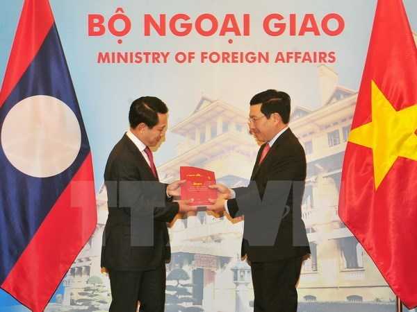 Vietnam-Laos ministerial-level consultation held in Hanoi, Government news, Vietnam breaking news, politic news, vietnamnet bridge, english news, Vietnam news, news Vietnam, vietnamnet news, Vietnam net news, Vietnam latest news, vn news