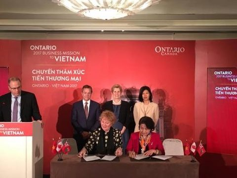 Ontario delegation inks six agreements in Vietnam, vietnam economy, business news, vn news, vietnamnet bridge, english news, Vietnam news, news Vietnam, vietnamnet news, vn news, Vietnam net news, Vietnam latest news, Vietnam breaking news