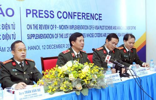 E-visa issuance grows each month: immigration official, social news, vietnamnet bridge, english news, Vietnam news, news Vietnam, vietnamnet news, Vietnam net news, Vietnam latest news, vn news, Vietnam breaking news