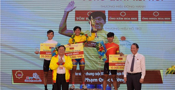 Pham Quoc Cuong wins Binh Duong Television Cycling Tournament, Sports news, football, Vietnam sports, vietnamnet bridge, english news, Vietnam news, news Vietnam, vietnamnet news, Vietnam net news, Vietnam latest news, vn news, Vietnam breaking news
