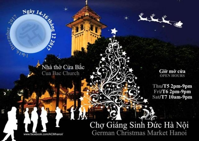 First German-style Christmas Market for Hanoi, entertainment events, entertainment news, entertainment activities, what's on, Vietnam culture, Vietnam tradition, vn news, Vietnam beauty, news Vietnam, Vietnam news, Vietnam net news, vietnamnet news, vietn