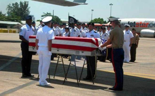 Repatriation ceremony held for US servicemen's remains, social news, vietnamnet bridge, english news, Vietnam news, news Vietnam, vietnamnet news, Vietnam net news, Vietnam latest news, vn news, Vietnam breaking news