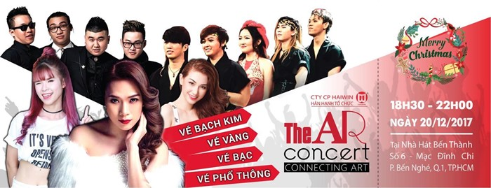 """""""The AR Concert – Connecting Art"""" to welcome Christmas in HCM City, entertainment events, entertainment news, entertainment activities, what's on, Vietnam culture, Vietnam tradition, vn news, Vietnam beauty, news Vietnam, Vietnam news, Vietnam net news, v"""