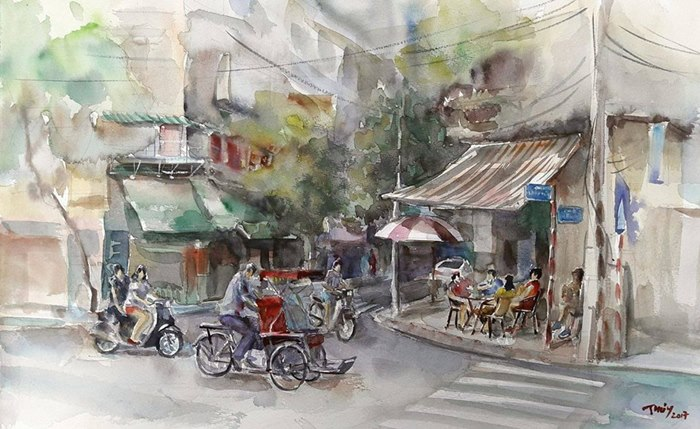 Hanoi Sketching Exhibition 2017 to showcase 160 sketches, entertainment events, entertainment news, entertainment activities, what's on, Vietnam culture, Vietnam tradition, vn news, Vietnam beauty, news Vietnam, Vietnam news, Vietnam net news, vietnamnet