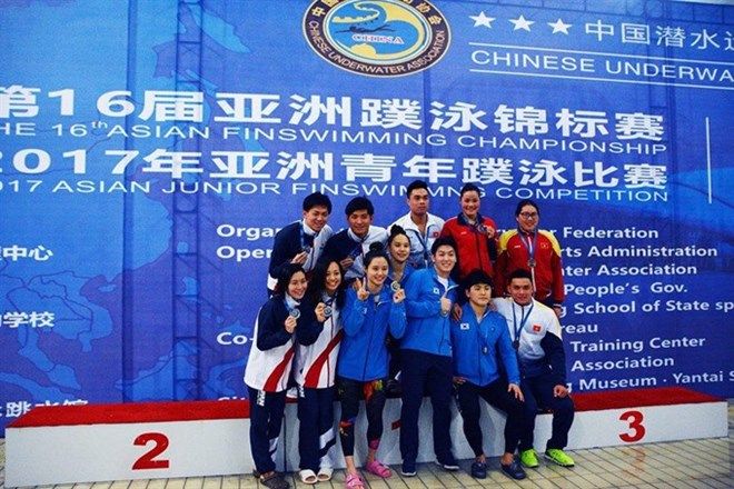 Vietnam ranks third in continental Finswimming tourney, Sports news, football, Vietnam sports, vietnamnet bridge, english news, Vietnam news, news Vietnam, vietnamnet news, Vietnam net news, Vietnam latest news, vn news, Vietnam breaking news