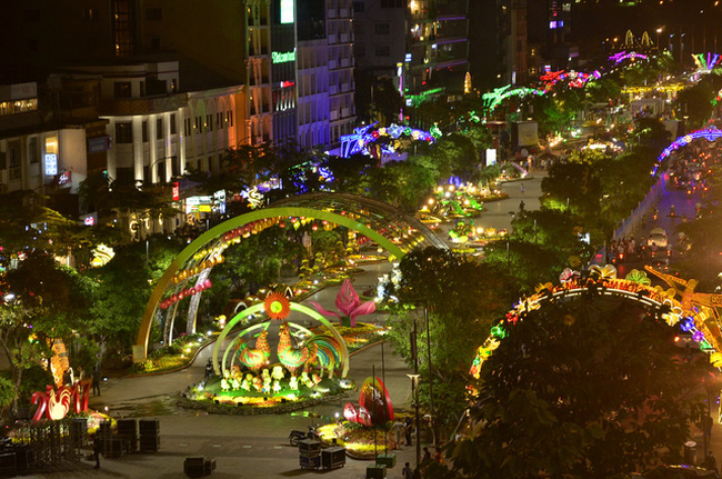 Tet revelers can enjoy virtual reality photography on Flower Street, entertainment events, entertainment news, entertainment activities, what's on, Vietnam culture, Vietnam tradition, vn news, Vietnam beauty, news Vietnam, Vietnam news, Vietnam net news,